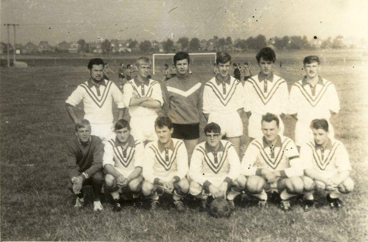 Sports-Loisne en 1967 sur le terrain de Bracquencourt