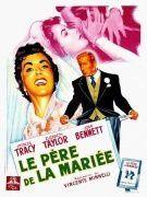 L'affiche de présentation du film ''Le père de la mariée''