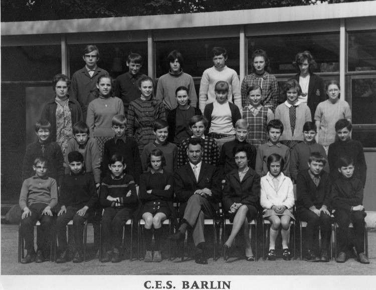 Une classe du CES de Barlin