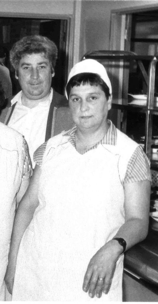 Jean Claude Fontaine avec Nicole son épouse