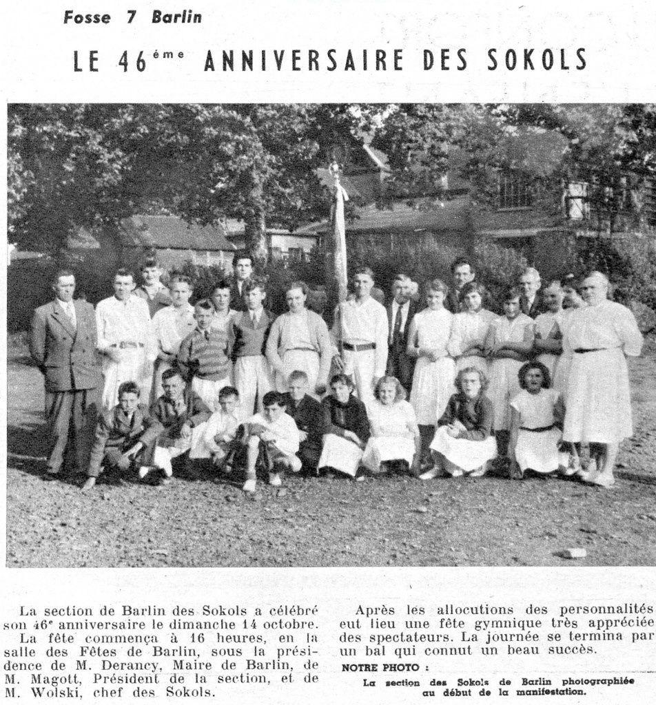 Article de presse datant d'octobre 1956