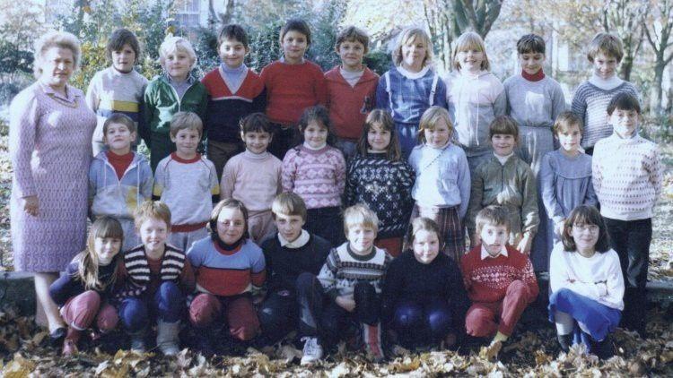 La classe de Madame Neuville en 1983