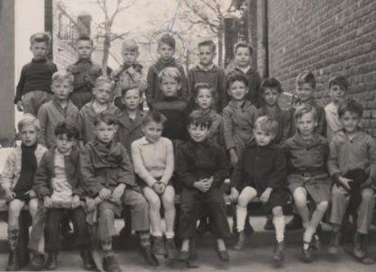 Une autre classe en 1957