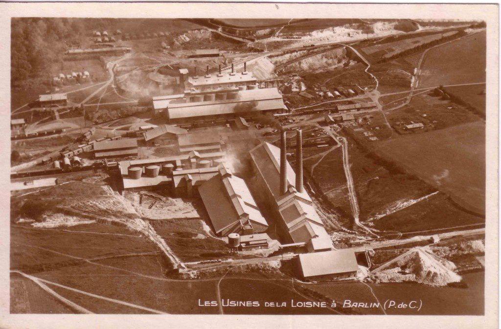 La cimenterie de La Loisne de Barlin ou d'Hersin?