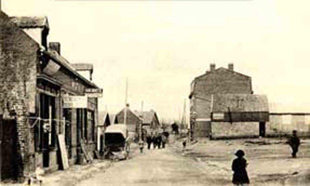 Barlin, la rue de Fresnicourt