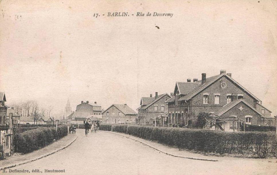 La rue Domrémy