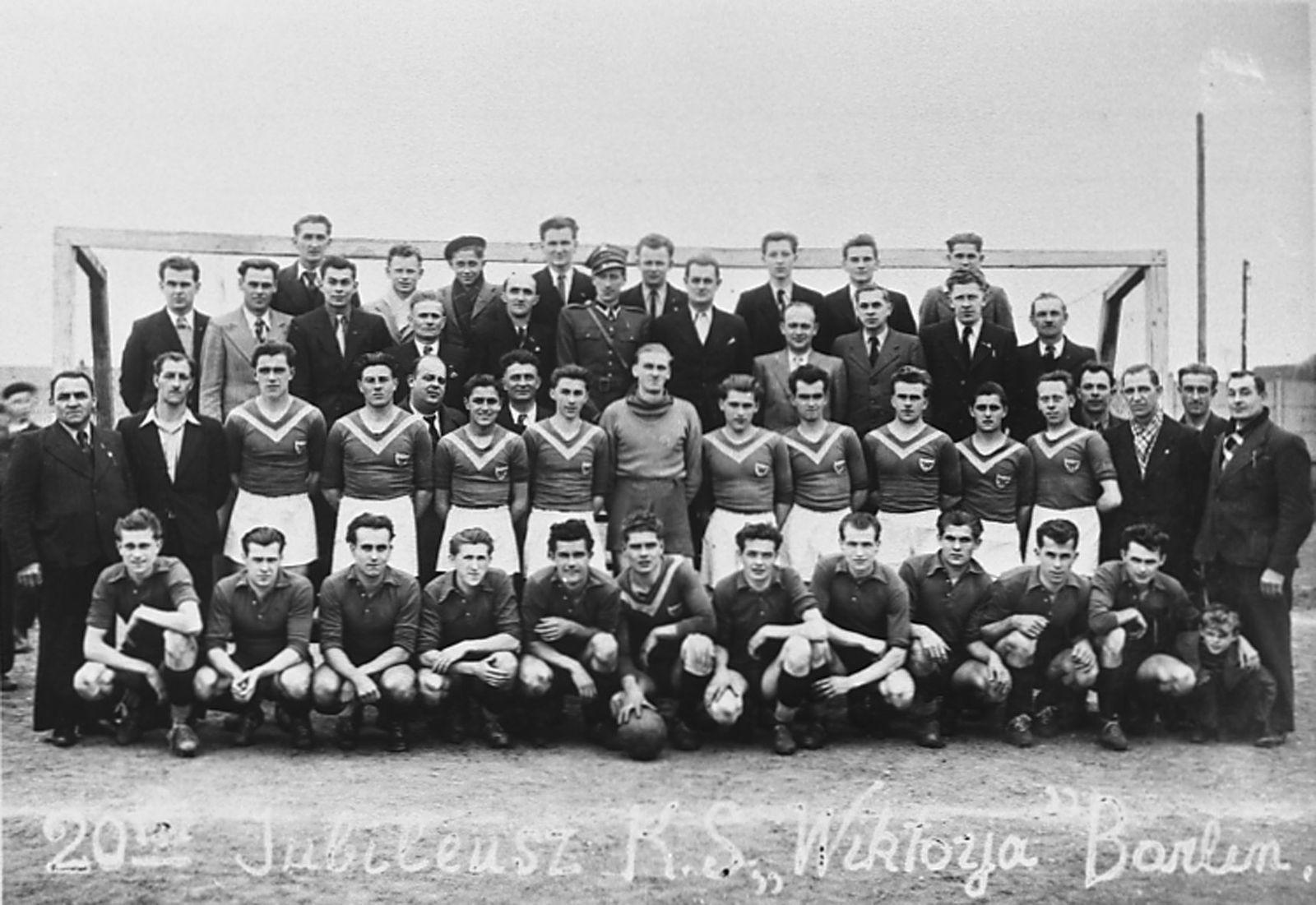 Le vingtième anniversaire du club Wiktorja de Barlin