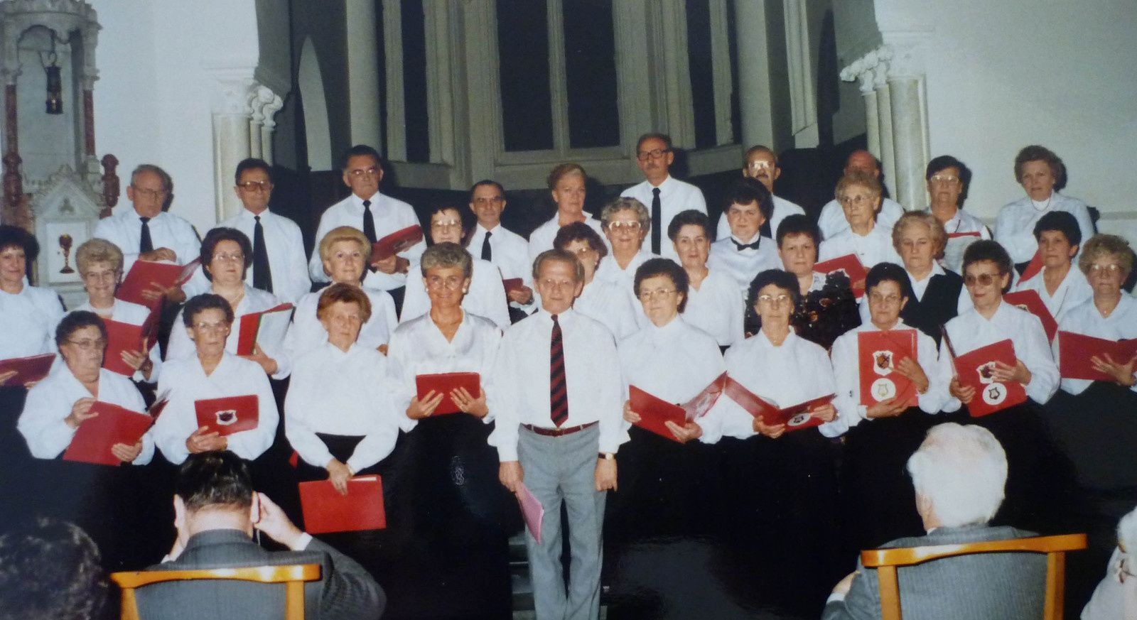 Photos souvenir de la chorale Chanteclair de Barlin