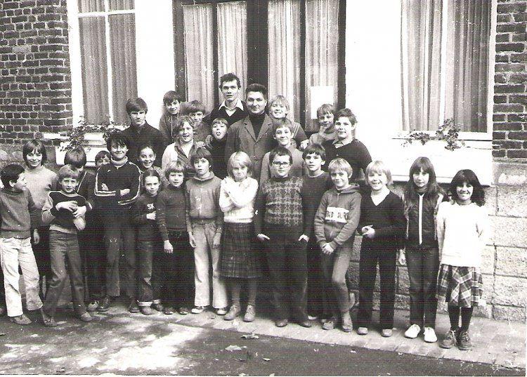 La classe de CM2 en 1979 de Monsieur Decroix