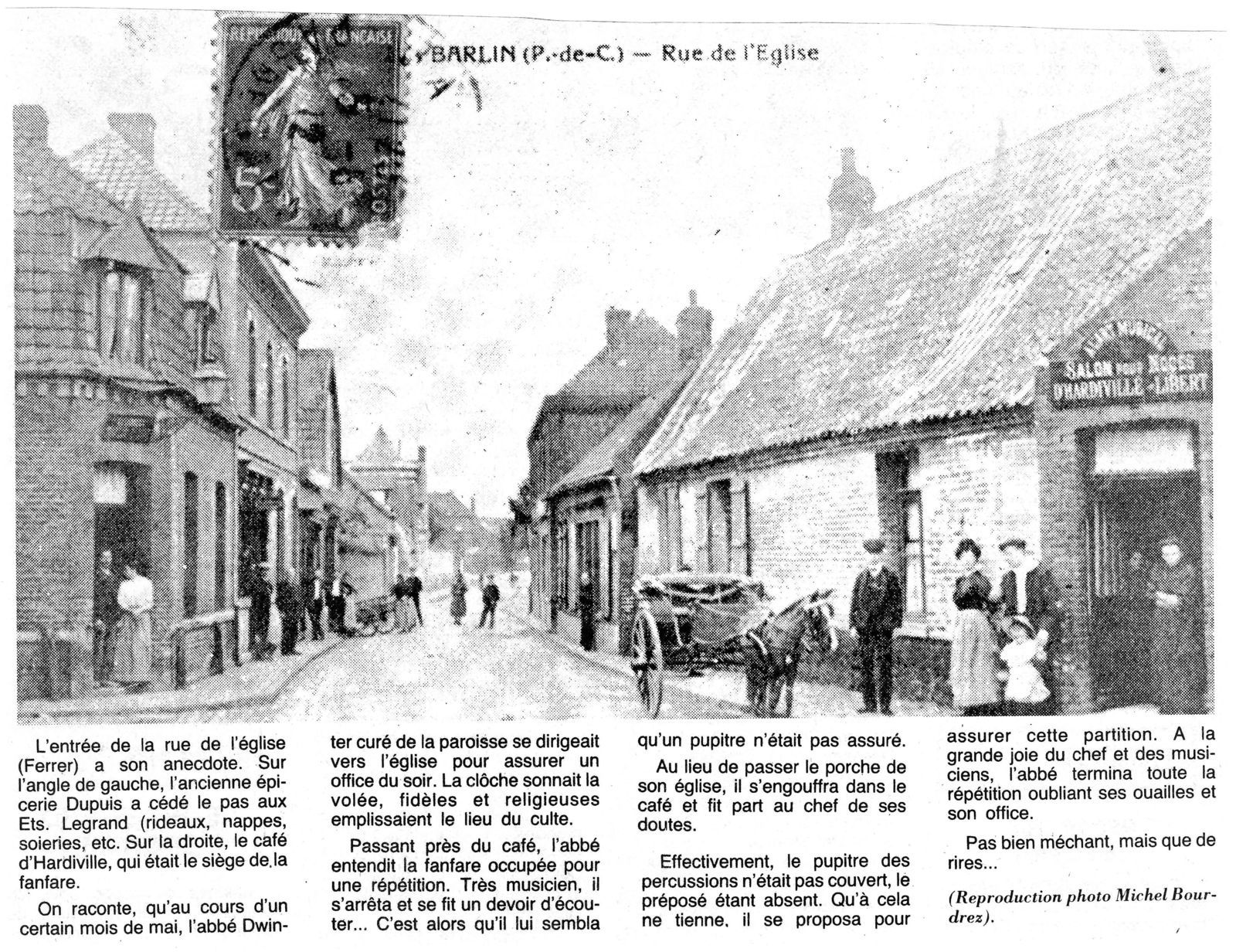 L'A.C.A.I était l'association des commerçants de Barlin.