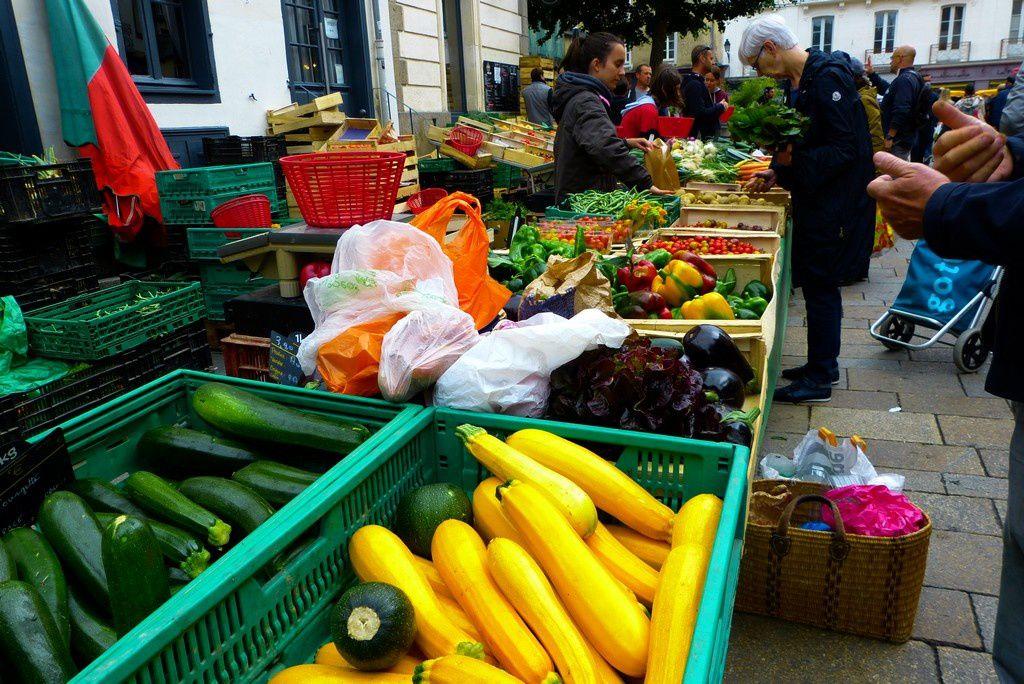 Rennes et son marché