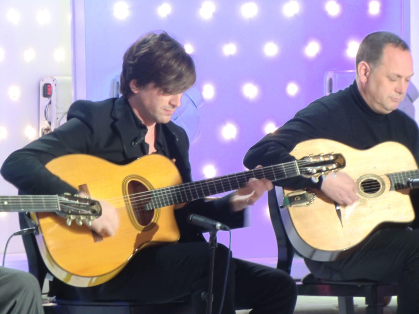 Thomas Dutronc et ses musiciens à Studio Gabriel (23/01/2013)