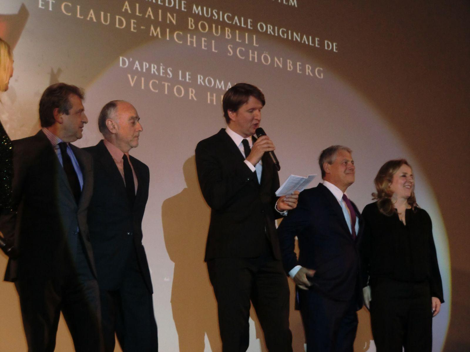 Avant-Première du film LES MISERABLES en présence d'Anne HATHAWAY au Gaumont Champs-Elysées le 06/02/2013