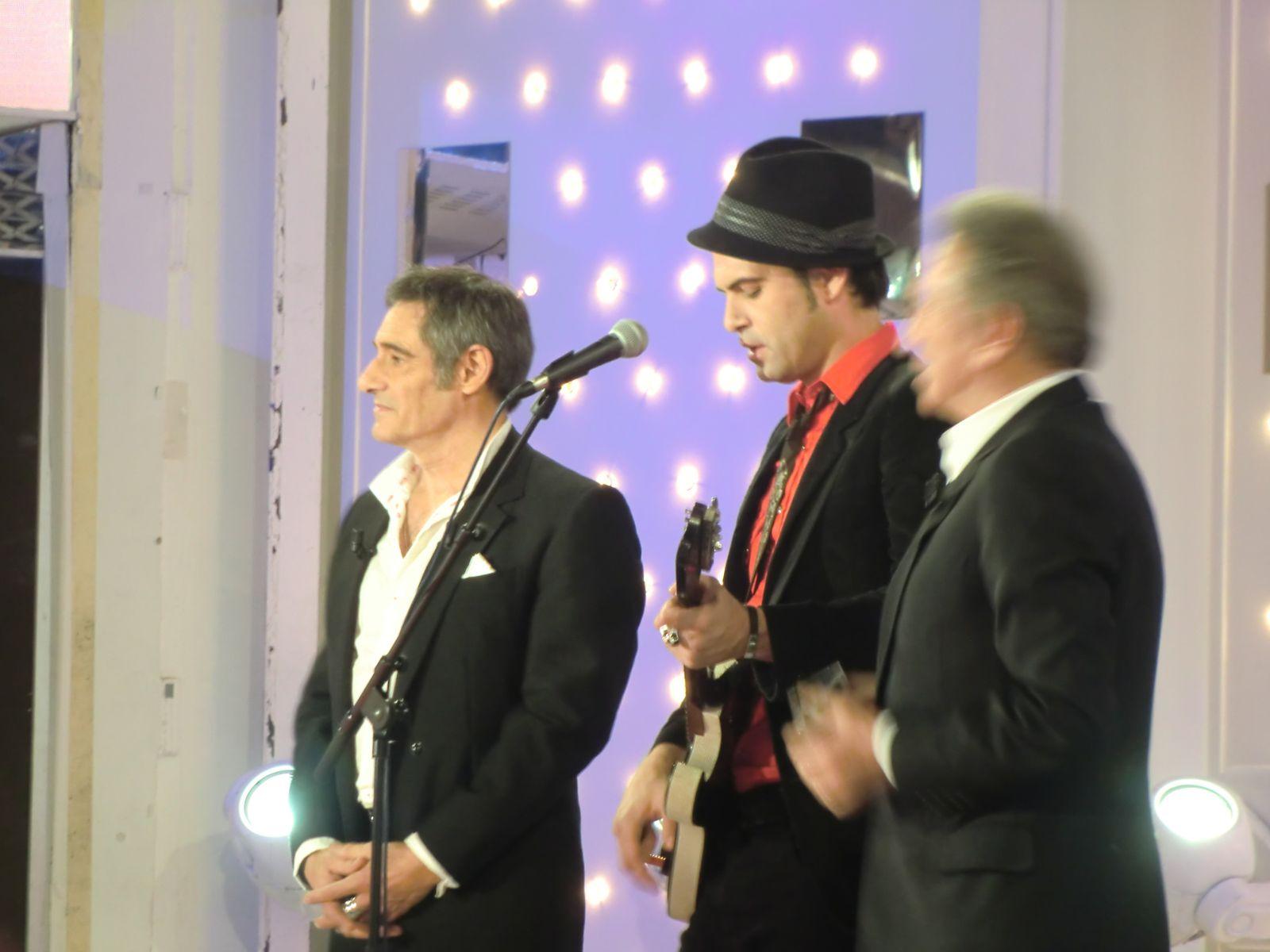 Gérard LANVIN à Studio Gabriel (23/01/2013)