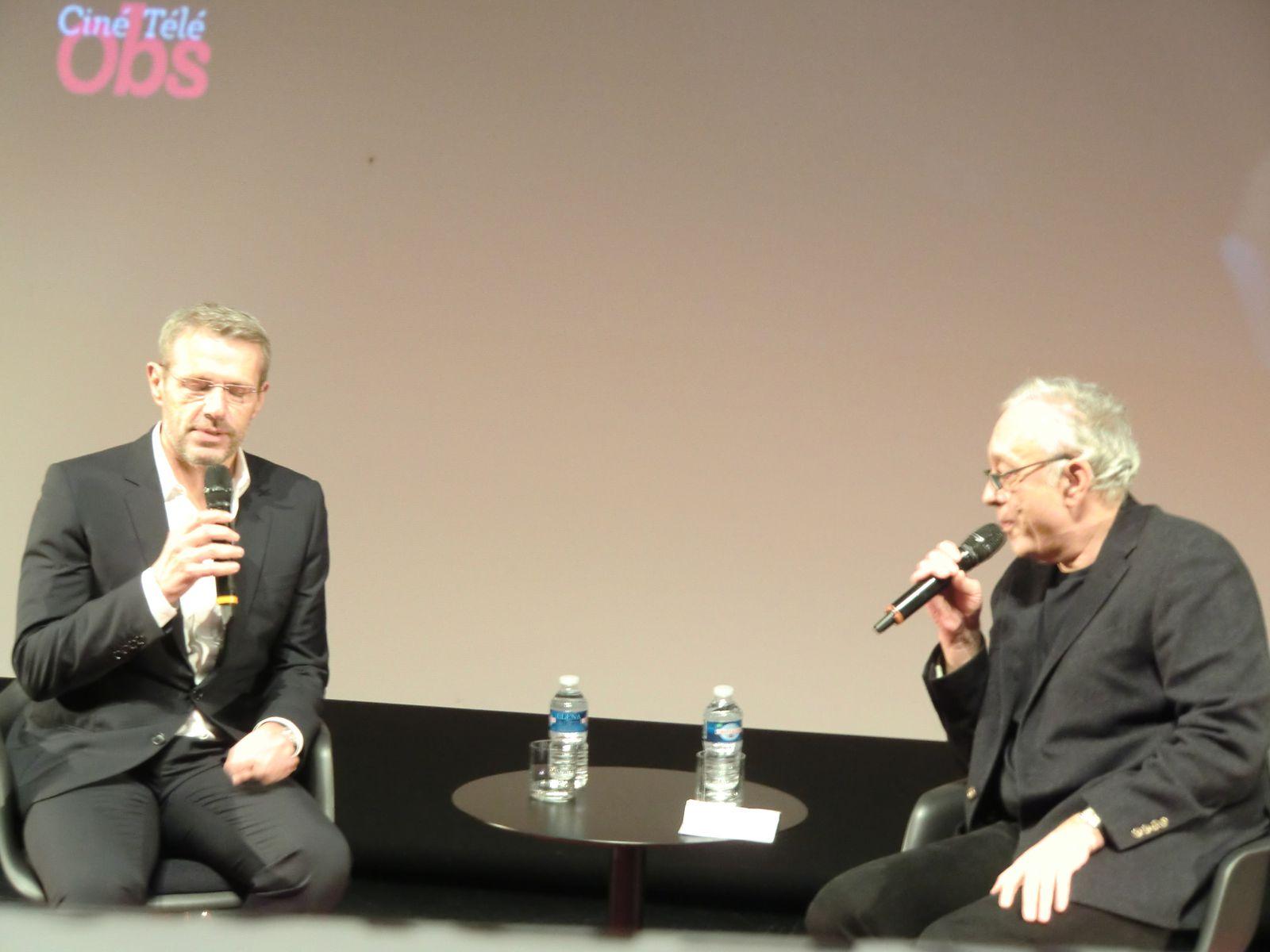 Lambert Wilson et Pascal Mérigeau