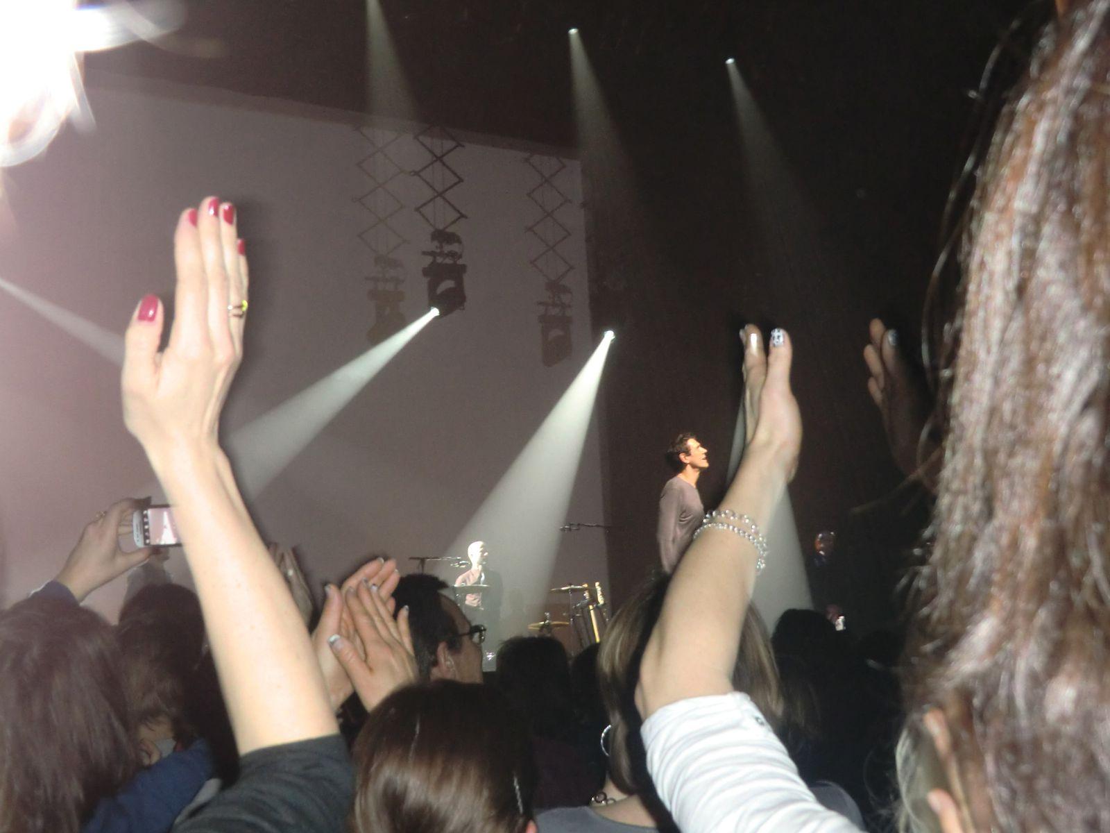 Marc LAVOINE en concert à l'Olympia (22/02/2013)