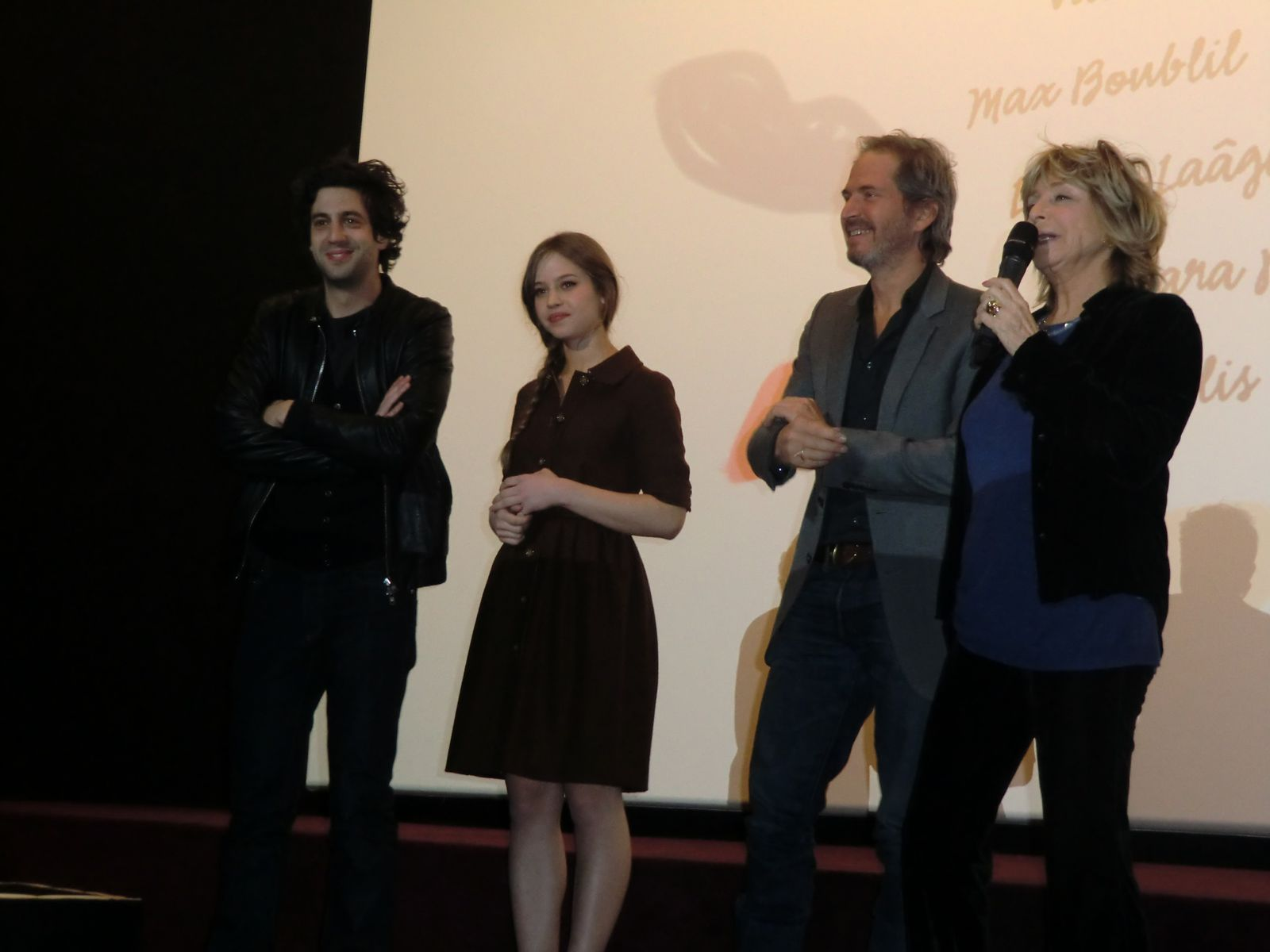 Max Boublil, Lou de Laâge, Christopher Thompson et Danièle Thompson