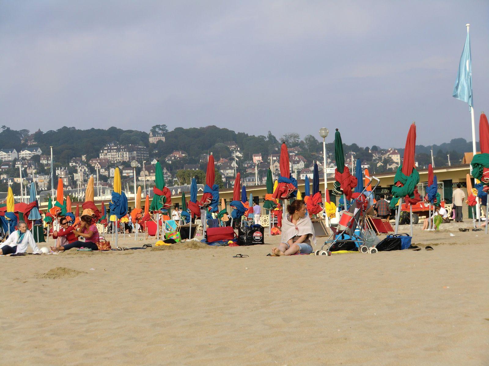 La plage, enfin le soleil est revenu