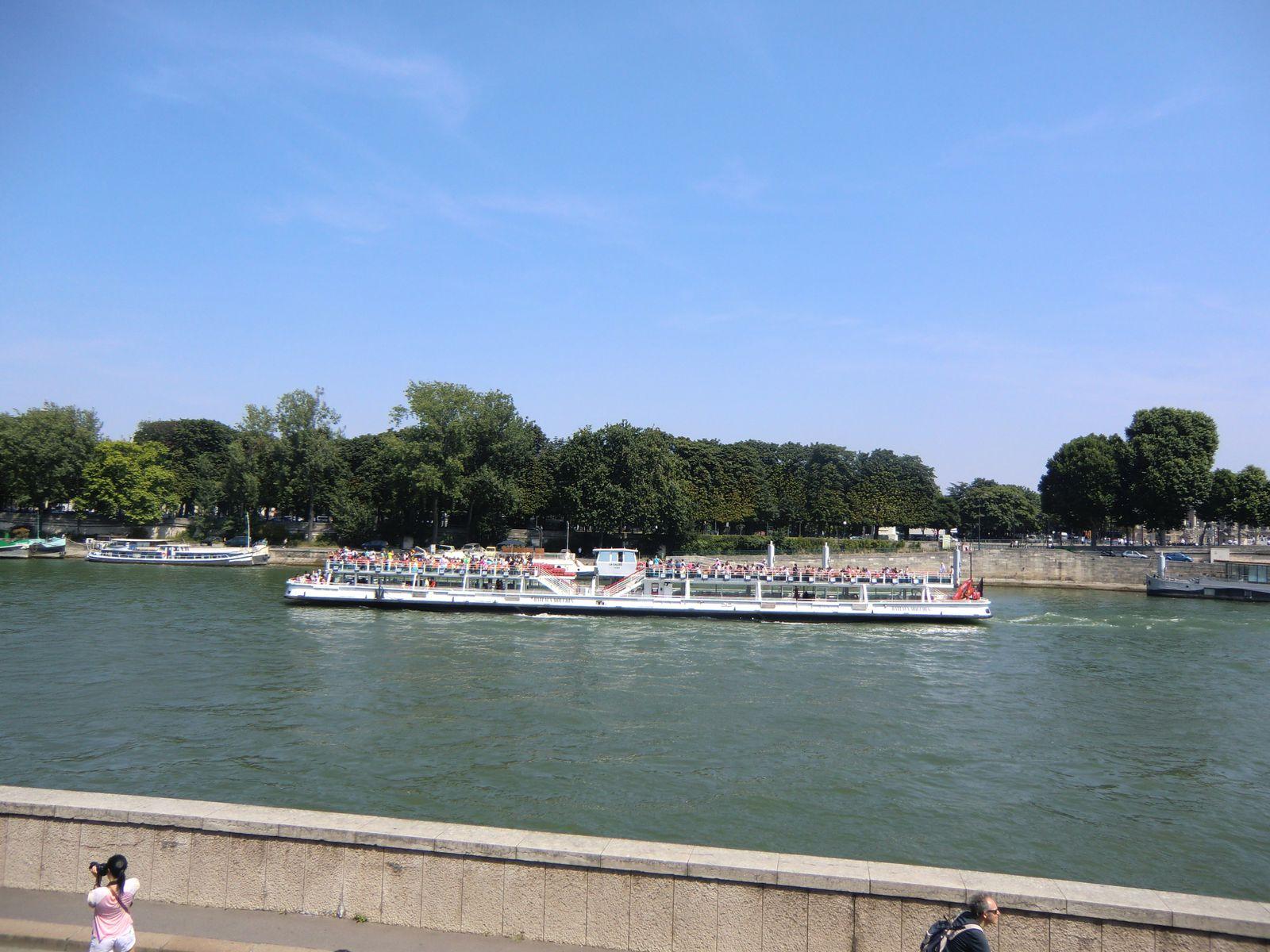 Vedette sur la Seine