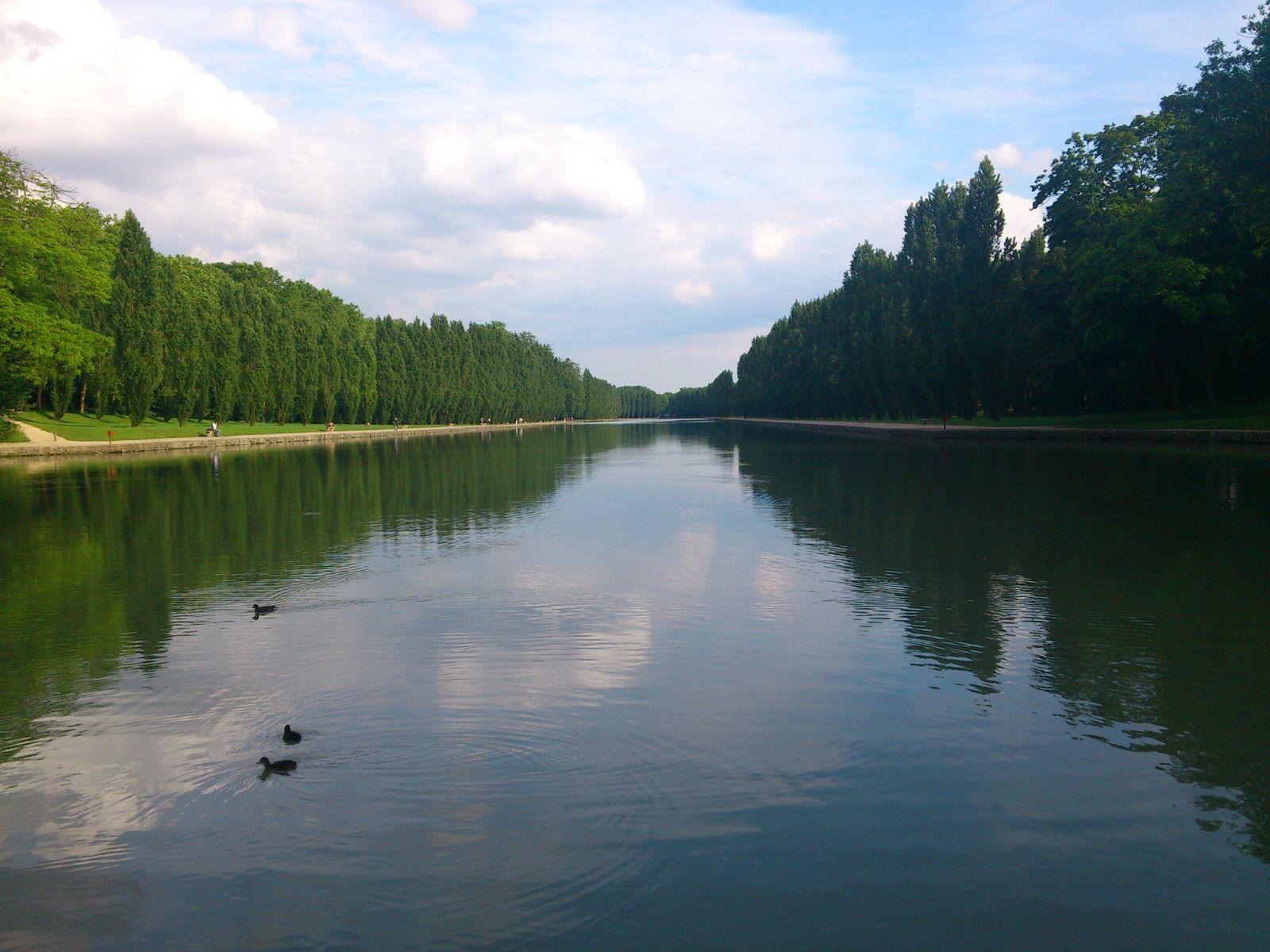 Le Grand Canal et le reflet des peupliers