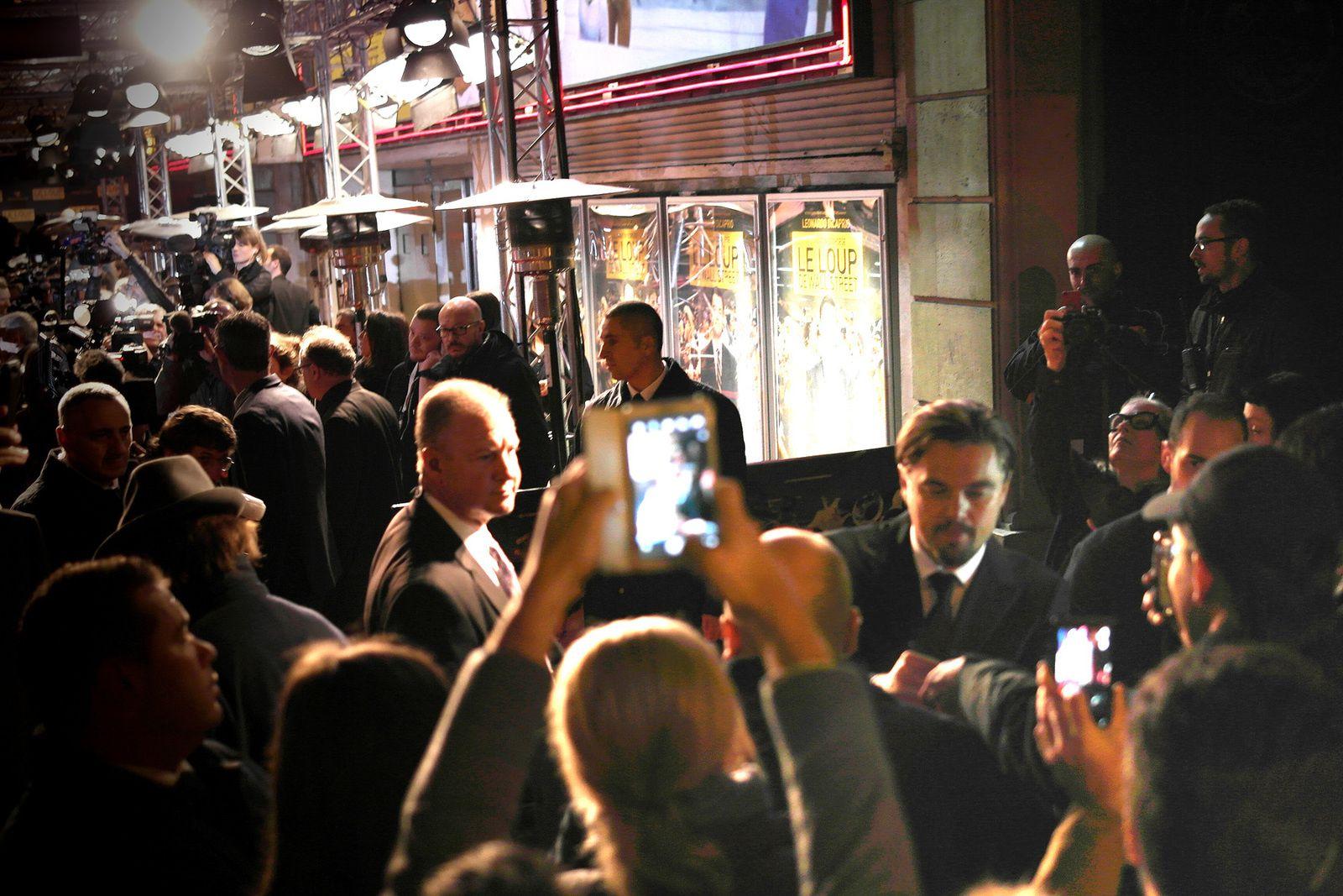"""AVANT-PREMIERE MONDIALE DU FILM """"LE LOUP DE WALL STREET"""" AVEC LEONARDO DICAPRIO (09/12/2013)"""