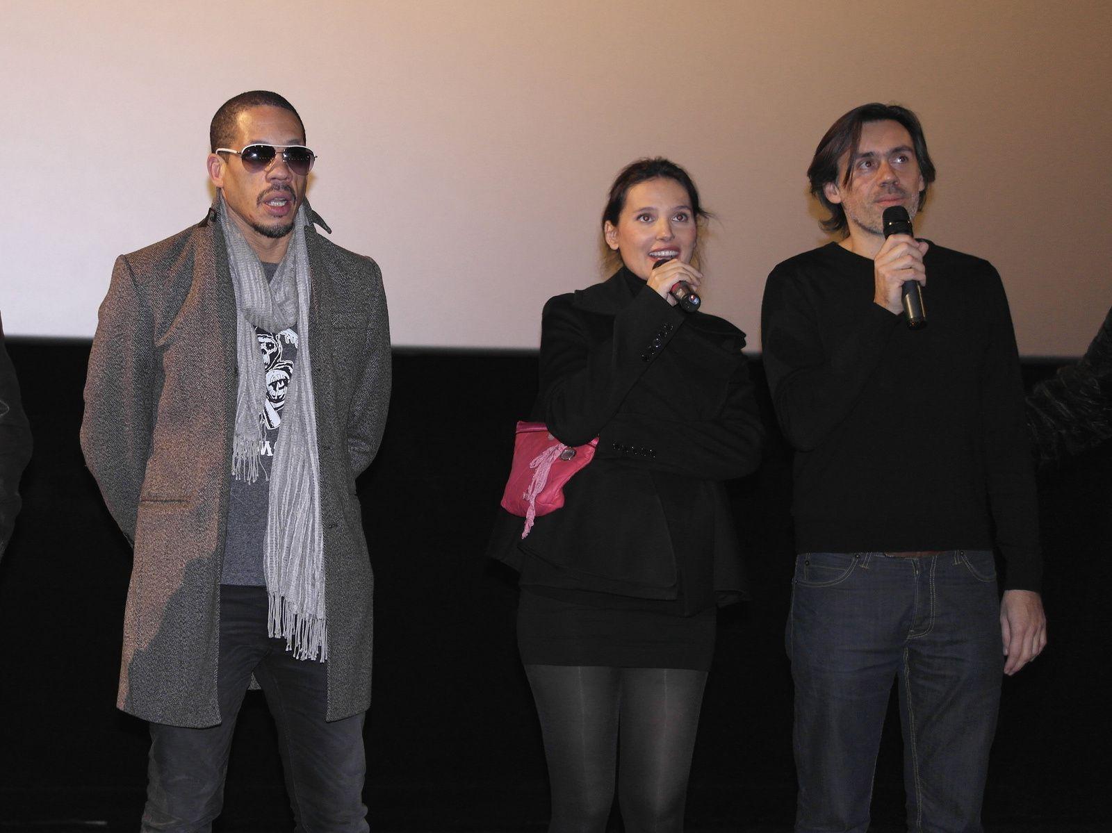 Joey Starr, Virginie Ledoyen, le réalisateur Emmanuel Mouret