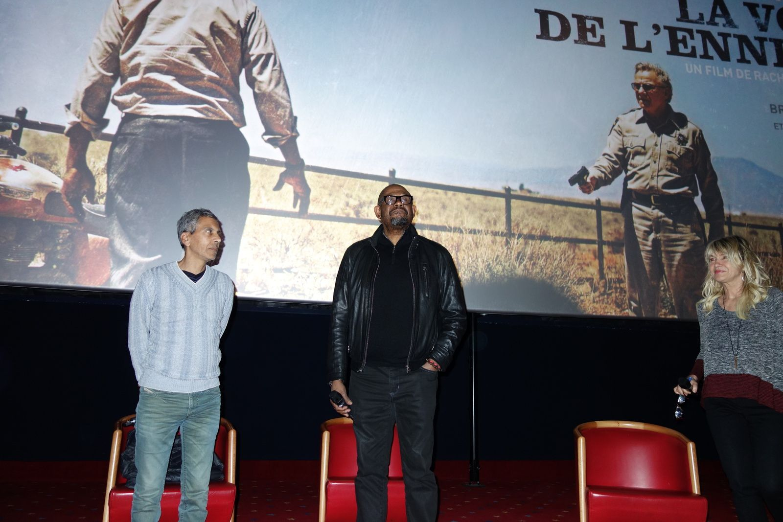 Rachid Bouchareb et Forest Whitaker