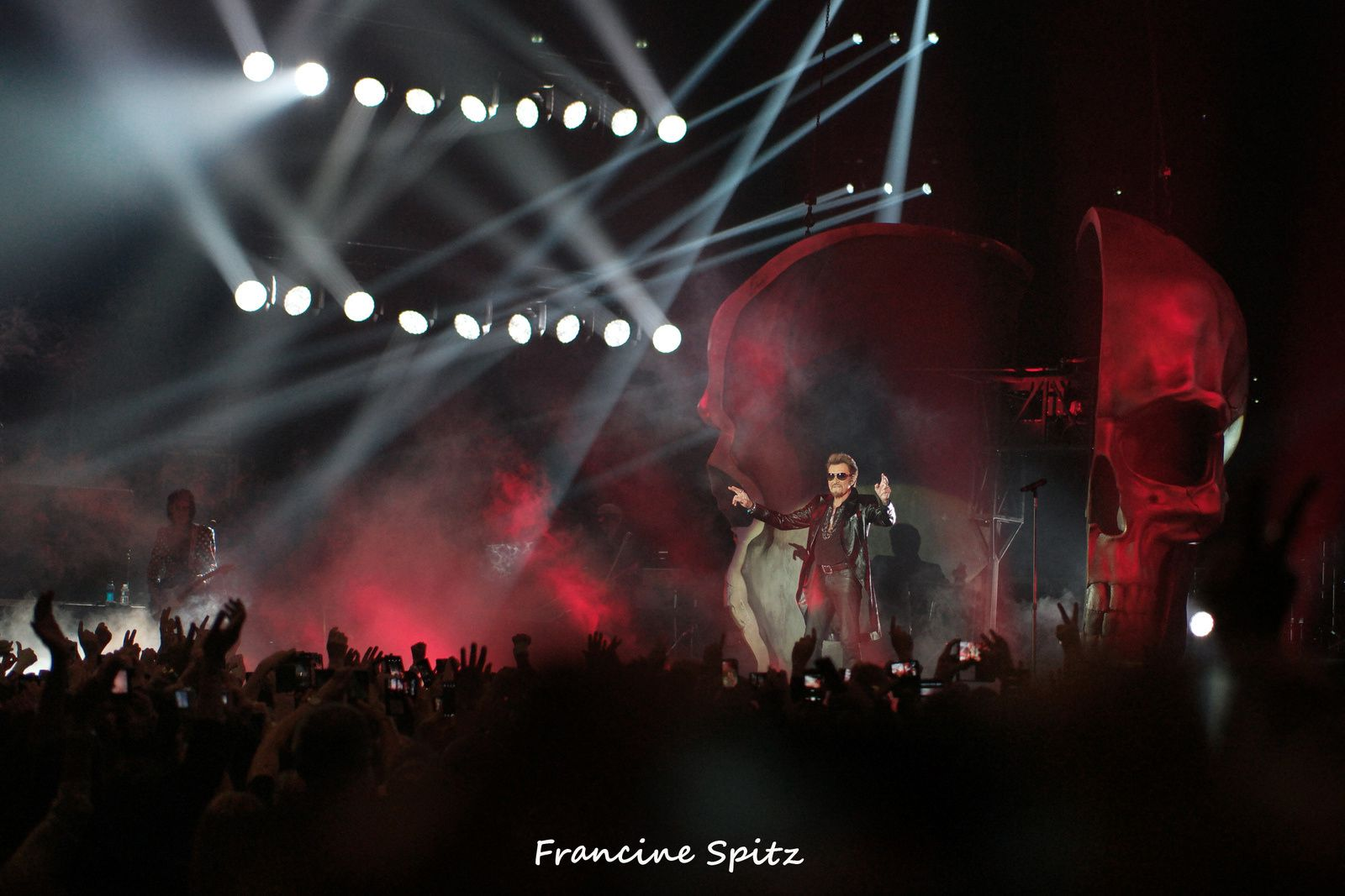 JOHNNY HALLYDAY à l'Accor Hotels Arena (29/11/2015)
