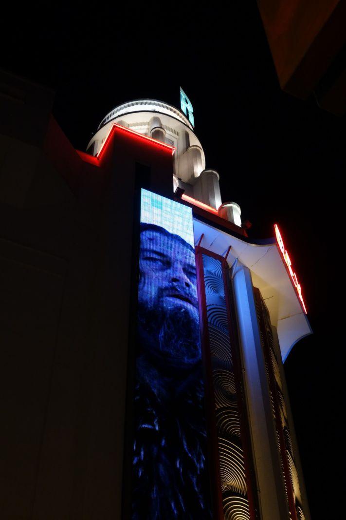 LEONARDO DICAPRIO au Grand Rex avant-première The Revenant (18/01/2016)