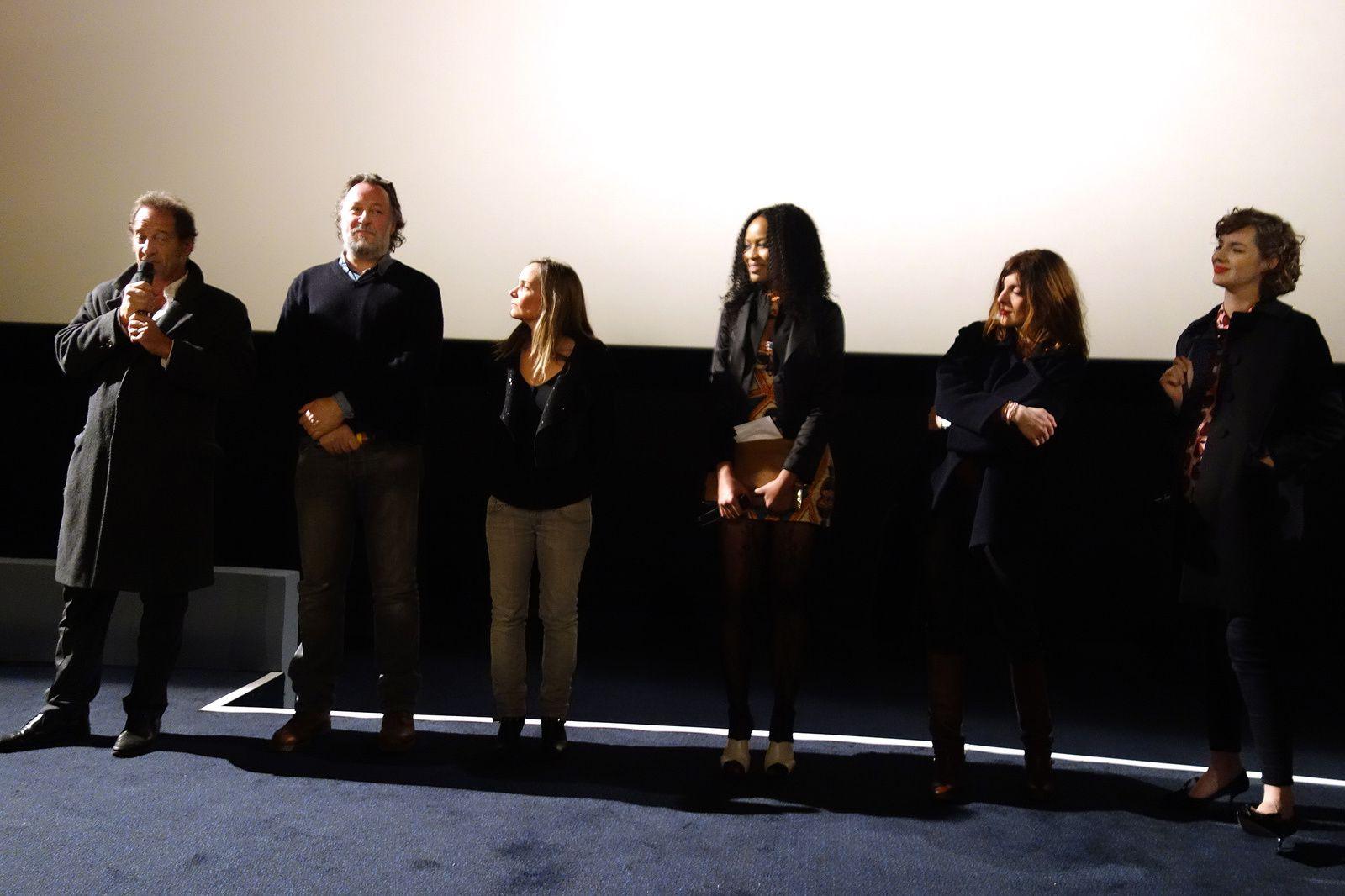"""VINCENT LINDON, LOUISE BOURGOIN, Avant-première """"Les Chevaliers blancs"""" (19/01/2016)"""