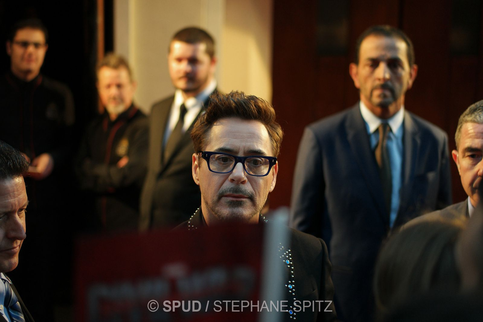 ROBERT DOWNEY Jr - CAPTAIN AMERICA au Grand Rex (18/04/2016)