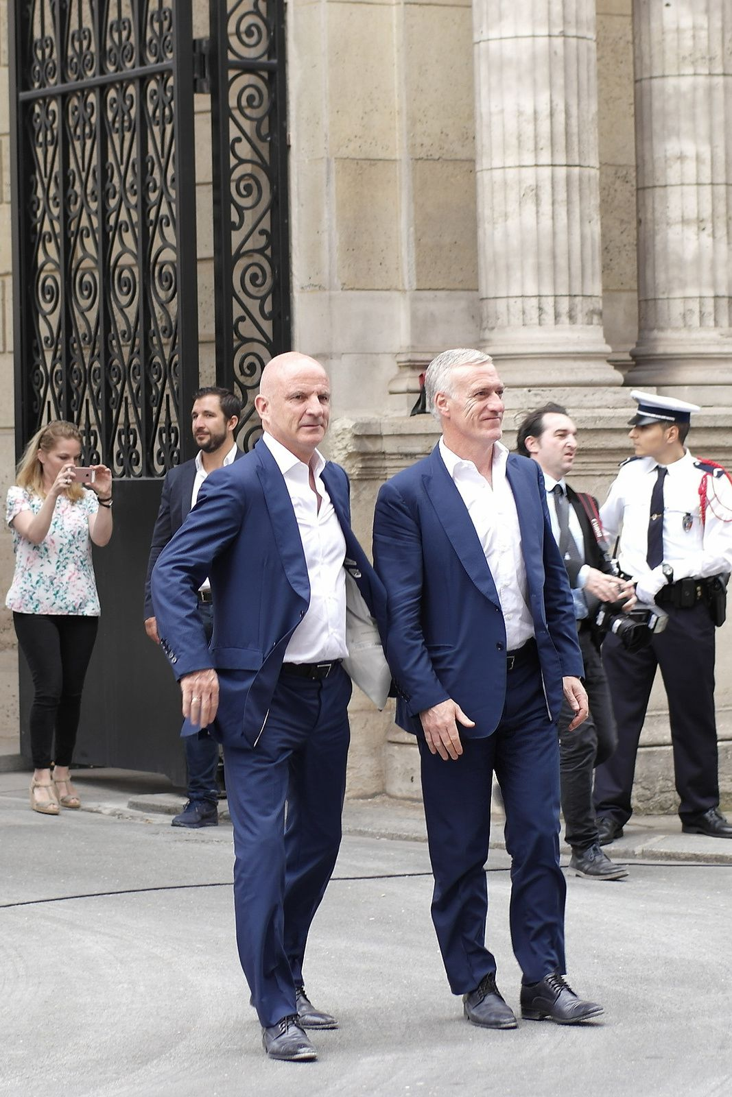 Guy Stéphan et Didier Deschamps