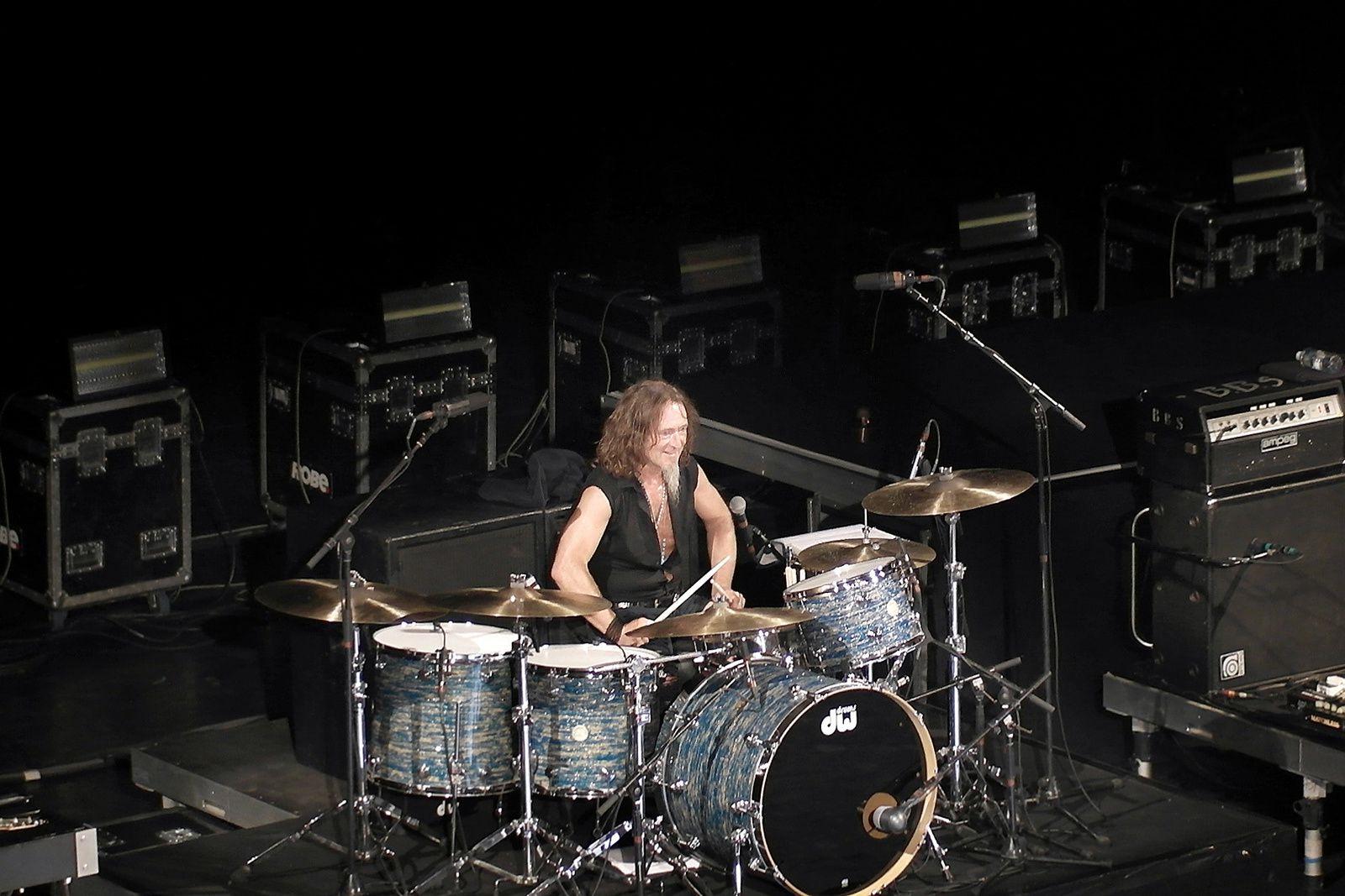 Geoff Dugmore, batteur ecossais