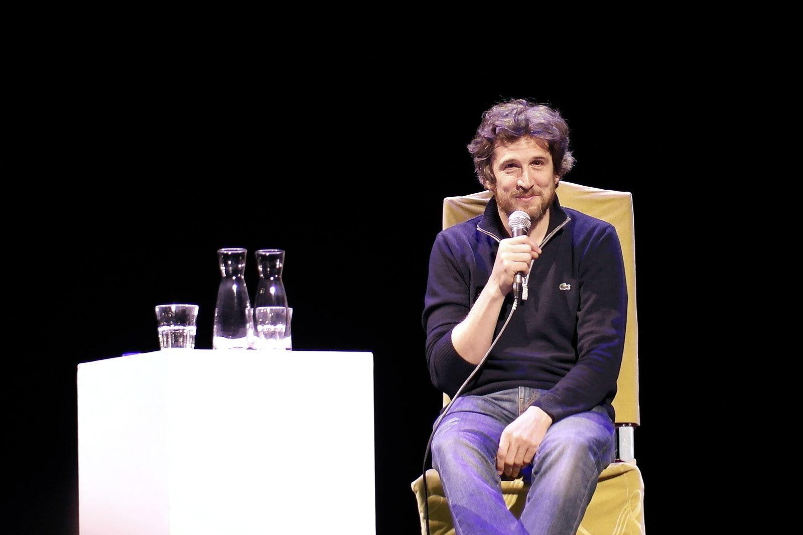 GUILLAUME CANET, rencontre au Théâtre du Rond-Point (20/02/2017)