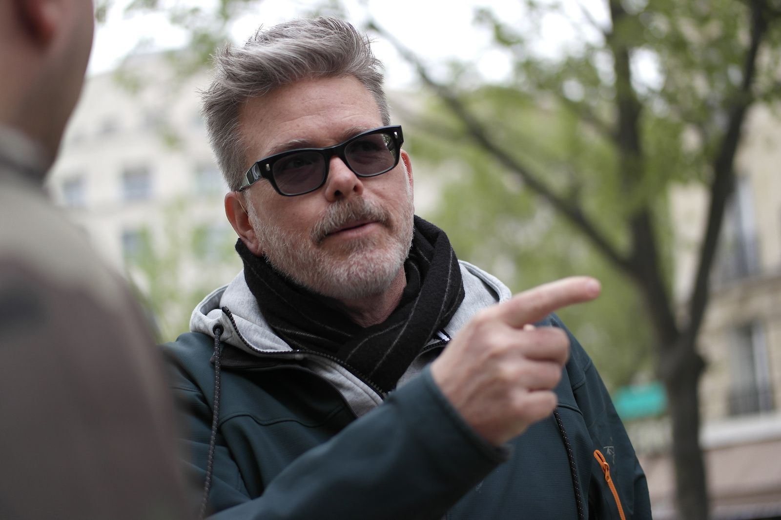 Avec le réalisateur Christopher McQuarrie