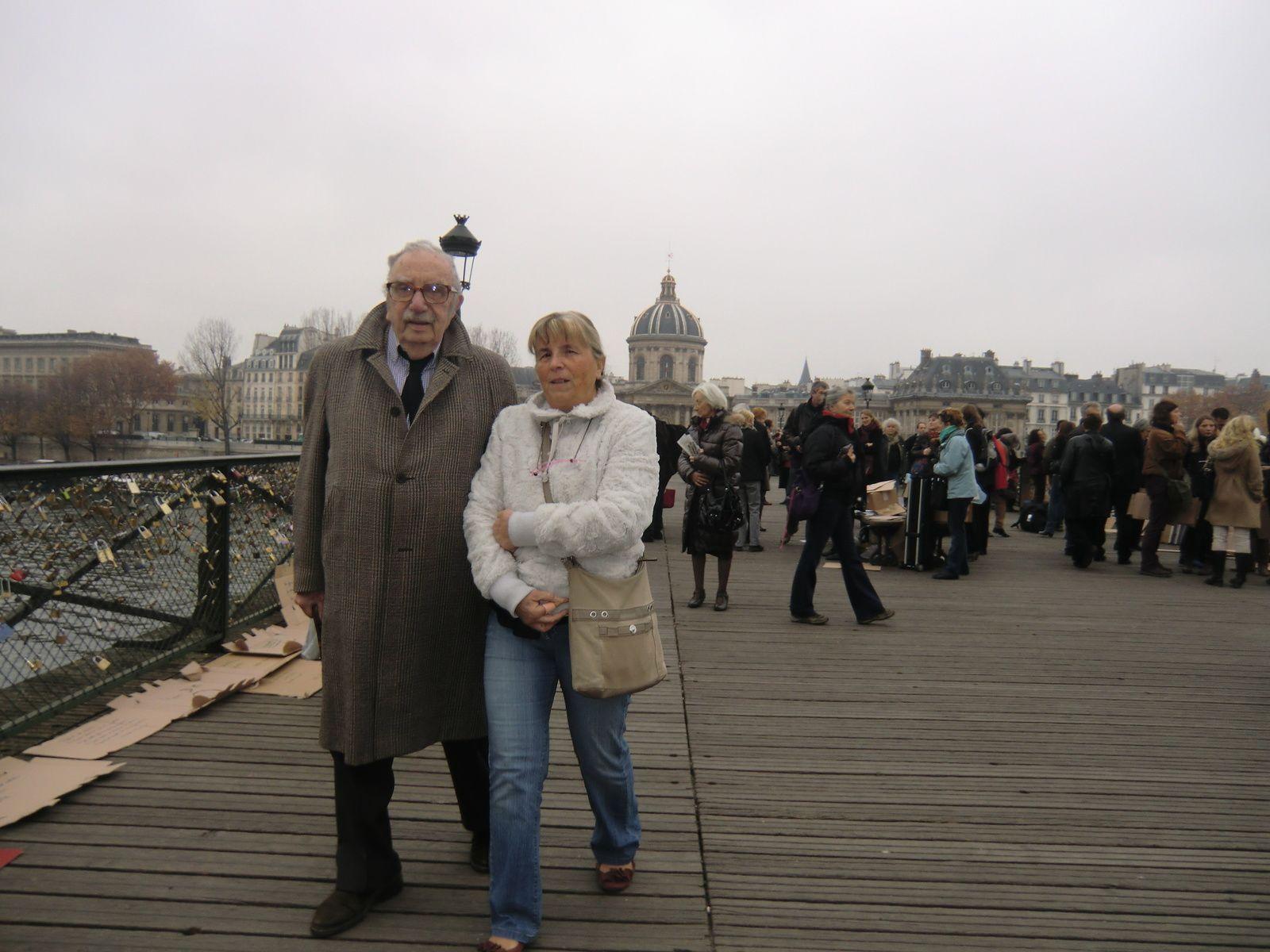 Mon oncle Max et ma soeur Michèle
