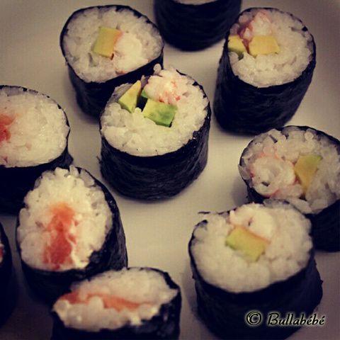 Soirée japonaise avec makis et sushis home-made