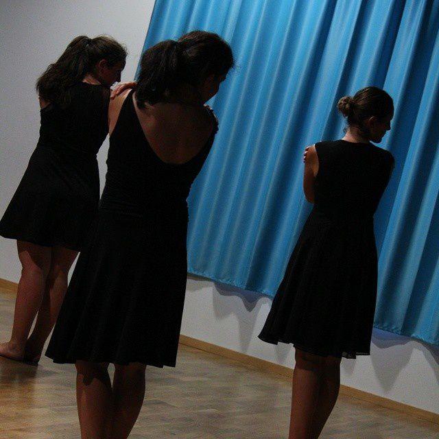 Final de notre spectacle de danse... Et je suis déjà nostalgique de nos vendredis soirs !