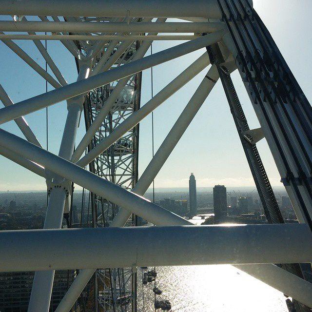 Londres vue d'en haut !