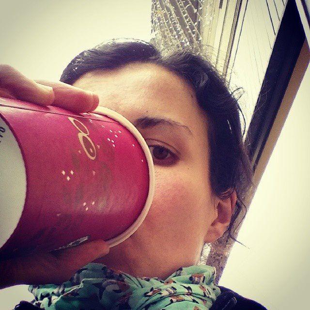 Une orgie de Chai tea latte chez Starbucks, mon petit plaisir parisien...