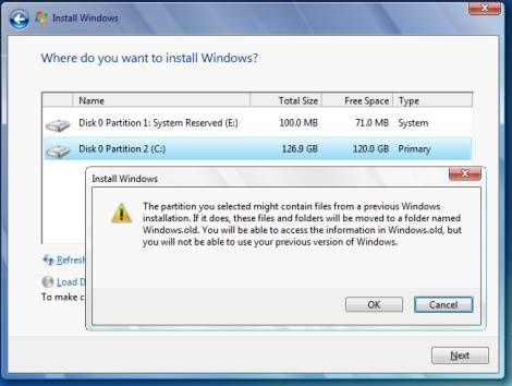 vous n avez plus qu a vous laissez guider pour l installation de windows 7