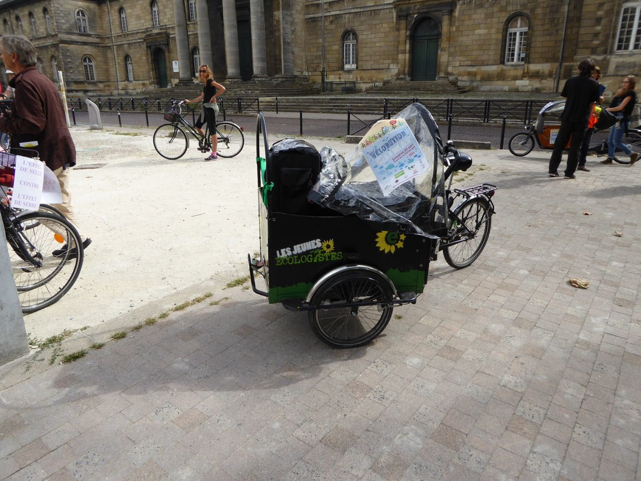 VELORUTION à Bordeaux.