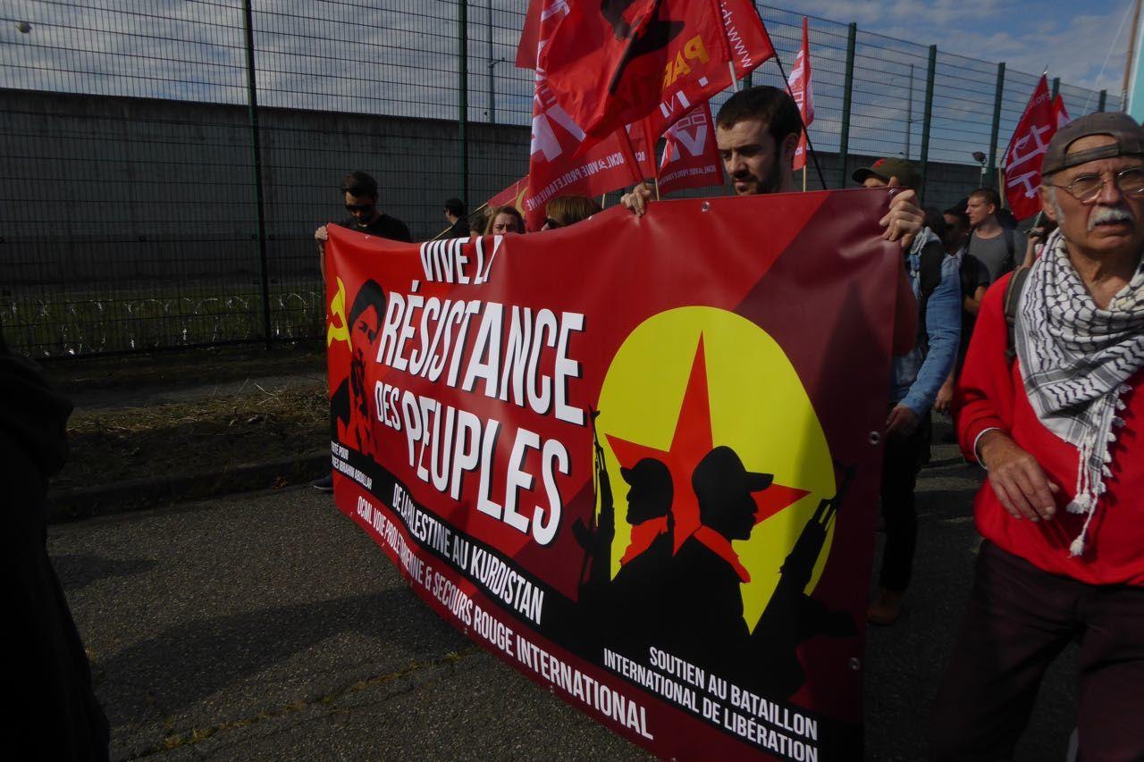 Solidarité à Lannemezan pour Georges Abdallah.