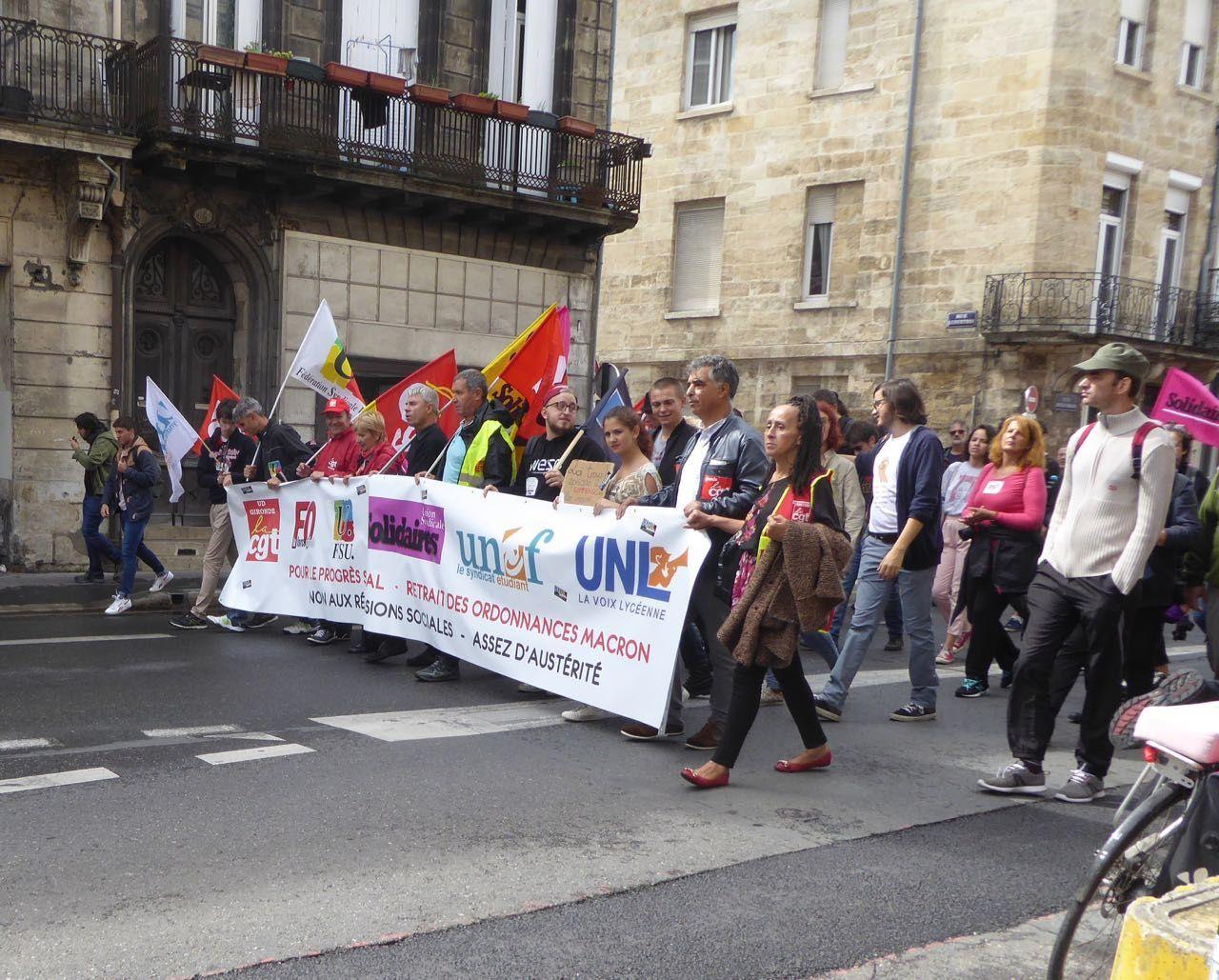 12001 personnes avec Georges Abdallah était avec nous, et plus dans la manif de Bordeaux