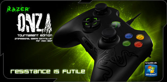 Razer Onza : le pad Xbox/Pc pour les joueurs exigeants [Test]