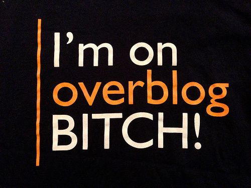 I'm on overblog b.... ! [justWriting]