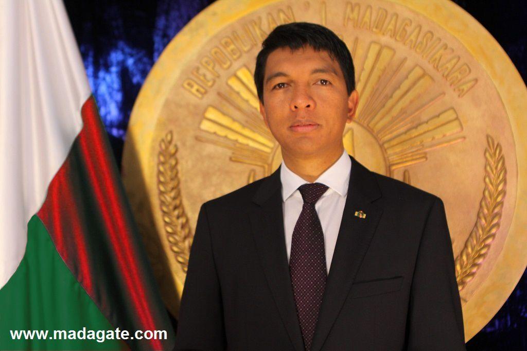 Le Président de la Transition de Madagascar à la TVM, le 23 août 2013 à 20 heures