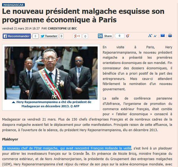Vraiment, à quel média se fier de nos jours, alors qu'un recoupement n'aurait pas terni ainsi la crédibilité de Jeune Afrique