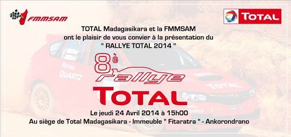 Madagascar, 8è Rallye TOTAL -2014-: VIDEOS