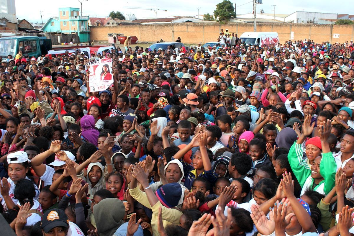 LALATIANA CANDIDATE FREEDOM N°9 A ANTANANARIVO -VIDEOS et PHOTOS-